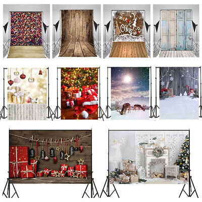 5x7ft Retro Photography Backdrop Vinyl Photo Christmas Backgrounds Studio Props](Christmas Props Photography)