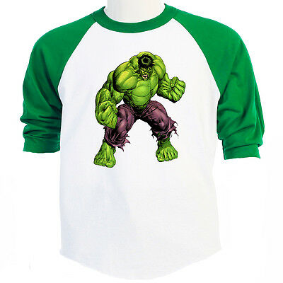 THE HULK, Marvel, Comic, Classic, B-Ball SZ S-3XL, T-SHIRT Sizes S-5XL, T-1127 - Hulk Shirt