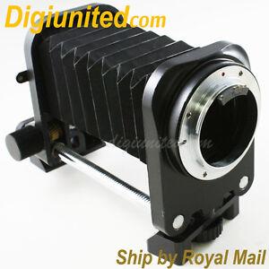 AF Confirm Macro Fold Bellows for Nikon F mount camera D4 D600 D800 D5200 D7100