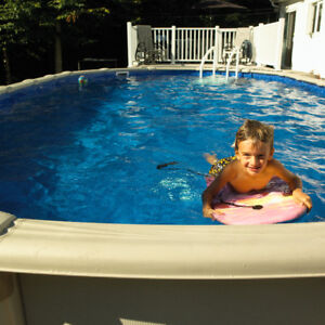 Above Ground Pool Blow Out!
