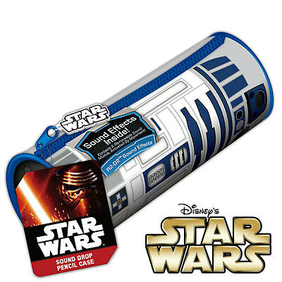 STAR WARS - R2-D2 Droid - Sound Effects Pencil Case - School Pens Stationary