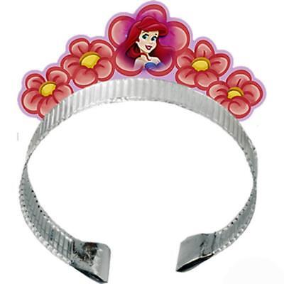 Little Mermaid Tiara Crown 4 Per Package Birthday Party Favors and Supplies New](Birthday Tiaras And Crowns)