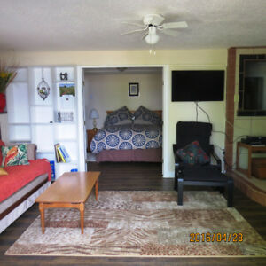 ORCA SUITE – FULLY FURNISHED ONE BEDROOM OCEANFRONT FOR RENT