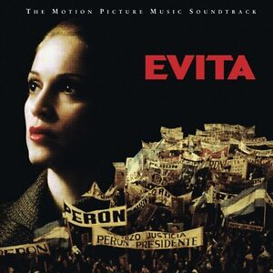Evita by Madonna(The Motion Picture Music Soundtrack)  In MINT C