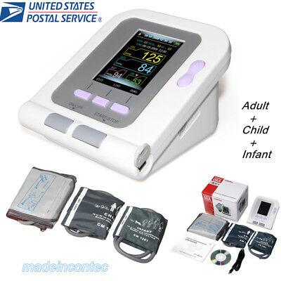 Usa Digital Blood Pressure Monitoradultchildpediatric Cuffsphygmomanometer