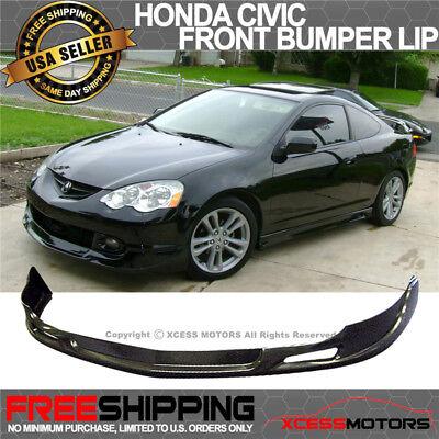 Fits 02-04 Acura RSX Type Sport PU Front Bumper Lip Spoiler