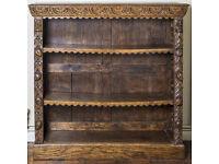 Carved Oak 'Green Man' Bookcase