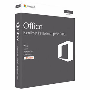 Microsoft Office Home & Business 2016 (Mac) – French