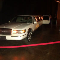 Limousine and Town Car with Professional Drivers