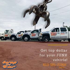 CASH for your JUNK vehicles!