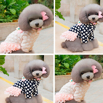 Dog Coat Jacket Pet Supplies Clothes Winter Apparel Clothing Puppy Costume Dress