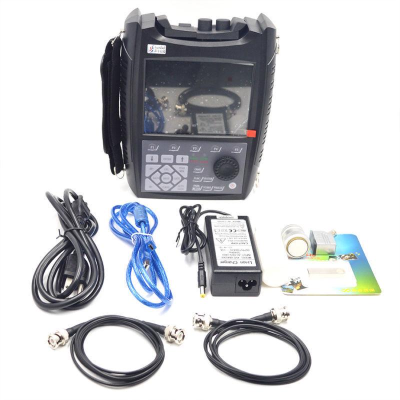 SUB100 Digital Ultrasonic Flaw Detector Tester Defectoscope 0~6000MM DAC Curv qn
