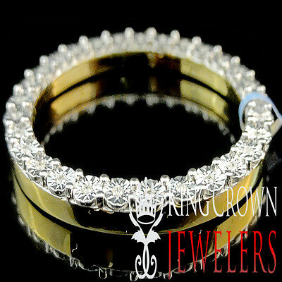 Real Genuine Diamond 41mm Rolex Watch Custom Bezel Solid 10K Yellow Gold Finish