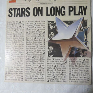 """Stars on Long Play""  record on an LP"