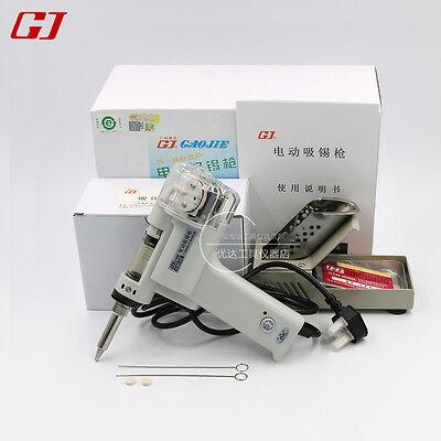 Dual Pump Suction Tin S-998p Electric Vacuum Desoldering Pump Solder Sucker Gun