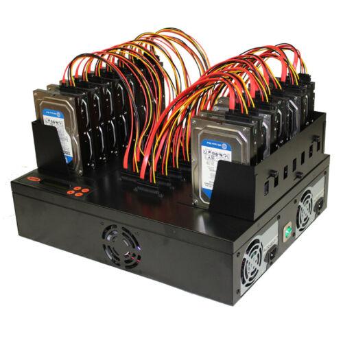 Systor 1:15 Sata Flatbed Hard Disk Drive Hdd/ssd Duplicator Sanitizer - 300mb/s