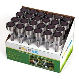 SOLAR LED LAWN PATIO LIGHTS - 24 PACK - FREE SHIPPING