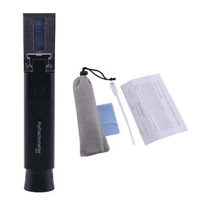 Alcohol Meter For Moonshine 0~80%V/V Refractometer Alcohol Tester ATC Handheld
