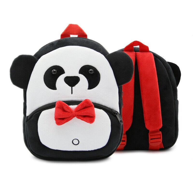 Toddler Kids Children Boys Girls 3D Cartoon Animal Backpack School Bag Rucksack