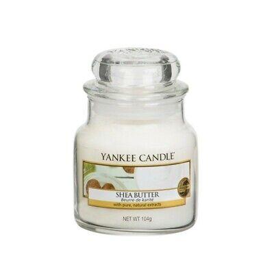 YANKEE CANDLE Giara Piccola Classic Jar Candela Profumata Fragranza Shea Butter