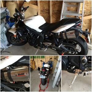 ***2012 Triumph Street Triple R & 2007 Suzuki GS500F