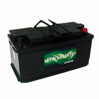 110Ah 12v Premium Leisure Battery Low case - Enforcer Low Height