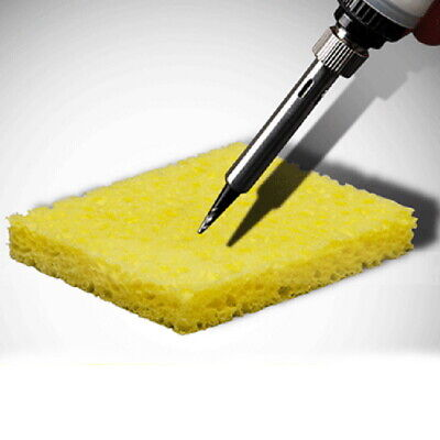 10x Yellow Cleaning Sponge Cleaner For Enduring Soldering Welding Electric Iron