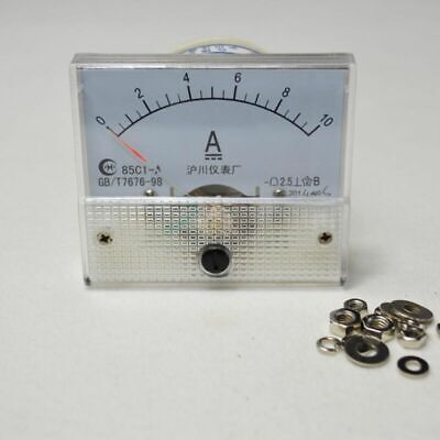 DC Panel Ammeter Factory Current Outlet Meter 85C1-Analog 0~10A AMP Dc Amp Meter