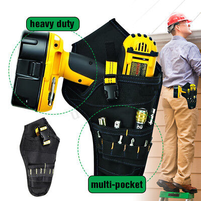 Drill Holster Cordless Tool Holder Heavy Duty Tool Belt Pouc