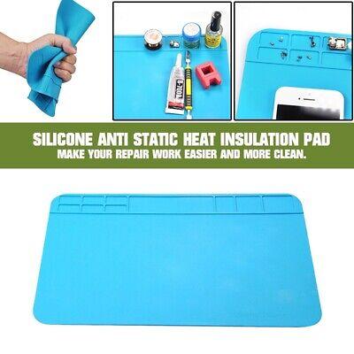 1pc Silicone Anti Static Heat Insulation Pad Soldering Repair Maintenance Mats