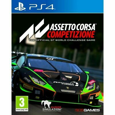 ASSETTO CORSA COMPETIZIONE PLUS INTERCONTINENTAL GT PACK DLC PREORDER PS4