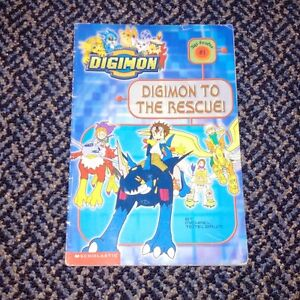 Digimon to the Rescue! (Digimon Reader) Paperback