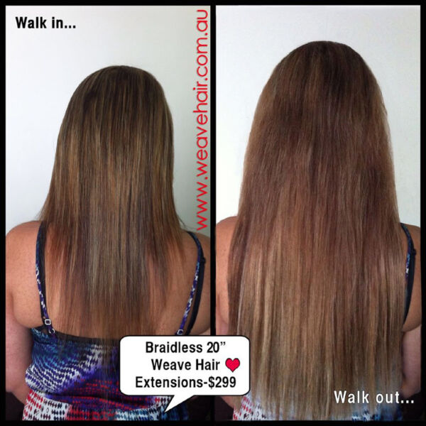 329 Weft Weave Hair Extensions Hand Tied Weft No1 European Hair