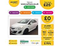 Vauxhall/Opel Corsa 1.2i FROM £25 PER WEEK