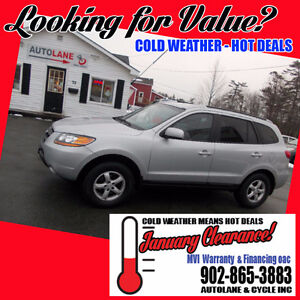 2009 Hyundai Santa Fe AWD VERY Clean $7995 Reliable SUV