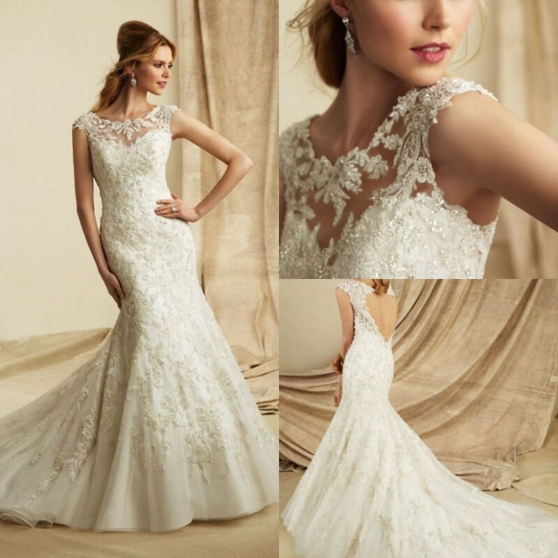 NEW WEDDING GOWNS MOB FLOWER GIRL DRESSES