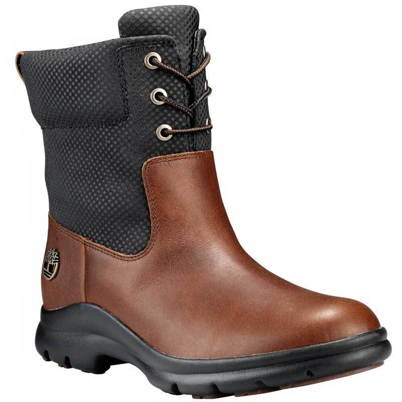 Women's Timberland Turain Waterproof Pull On Ankle Boots Brown A1HVJ