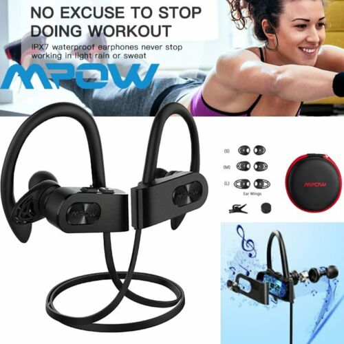 Mpow Flame2 Wireless Bluetooth 5.0 Earphones Headphones Head