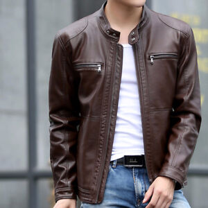 Mens Leather Jacket (any colour) - Size Small