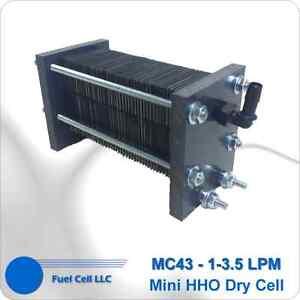 HHO DRY CELL 316L 43 PLATES (MC43) - HYDROGEN GENERATOR