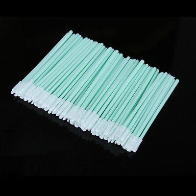100pcs/lot Dust-Free Cotton Swab Fiber Cleaning Tools Optical Fiber Cleaning Rod