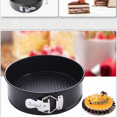 Coated Round Cake Mold Baking Pan Tray Spring Form Bakeware Tin Tray Non-Stick