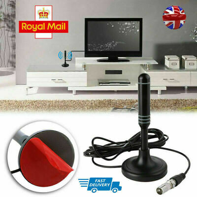 2020 UK Best Portable TV Antenna Indoor Outdoor Digital HD Freeview Aerial Ariel