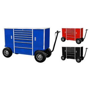 Bulldog Pit Carts, Tool Box, Work Benches, Race Track, Tools
