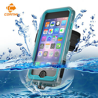 360 Full Cover Underwater Diving Waterproof Phone Case For iphone 6 7 8Plus 5.5""