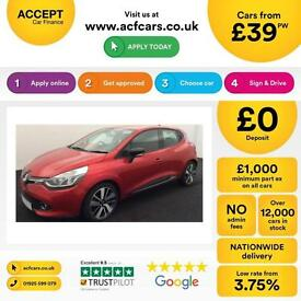 Renault Clio 1.5TD ( 90bhp ) ( MediaNav ) ( s/s ) FROM £39 PER WEEK!