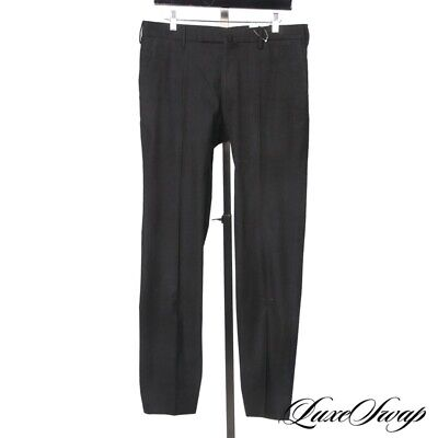 LNWOT Incotex Cloud Cotton Slim Fit Pattern 30 Forest Houndstooth Pants Trousers
