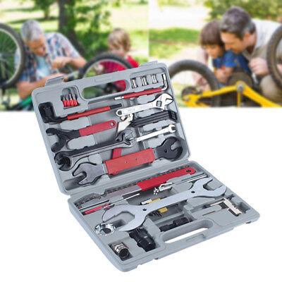 44tlg. Fahrrad Reparatur Werkzeug Satz Bike Reparaturwerkzeug Werkzeugkoffer NEU