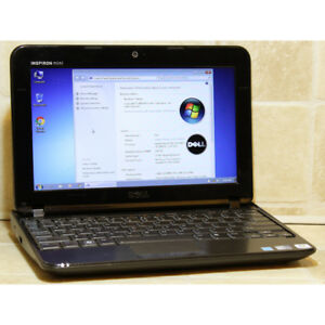 Dell Inspiron Mini 1018 Netbook Atom WiFi Webcam 2GB RAM 60GB