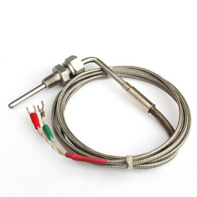 2m Egt K Type Thermocouple Exhaust Probe High Temperature Sensors Threads Usa